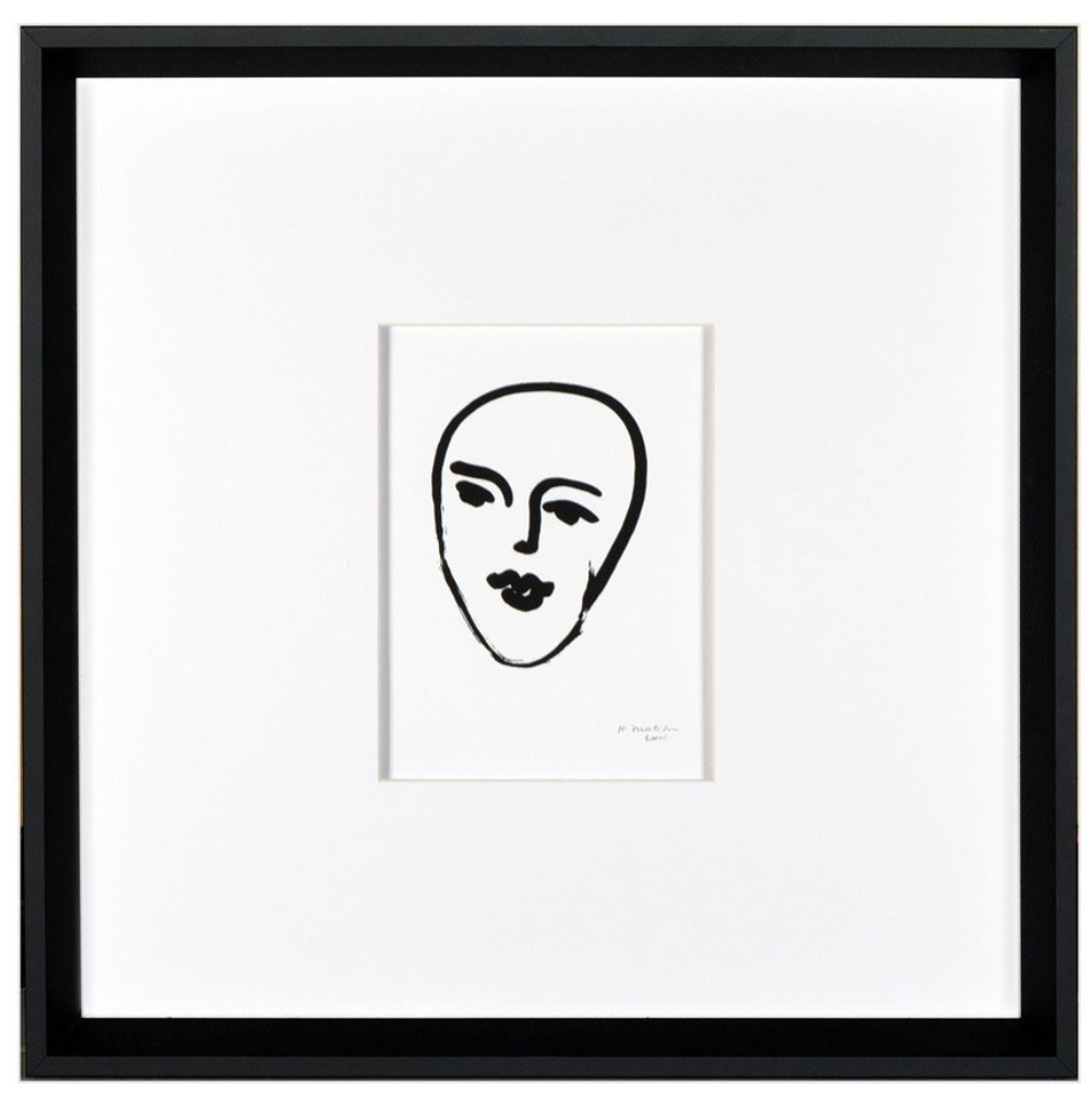 MATISSE FACE DRAWING