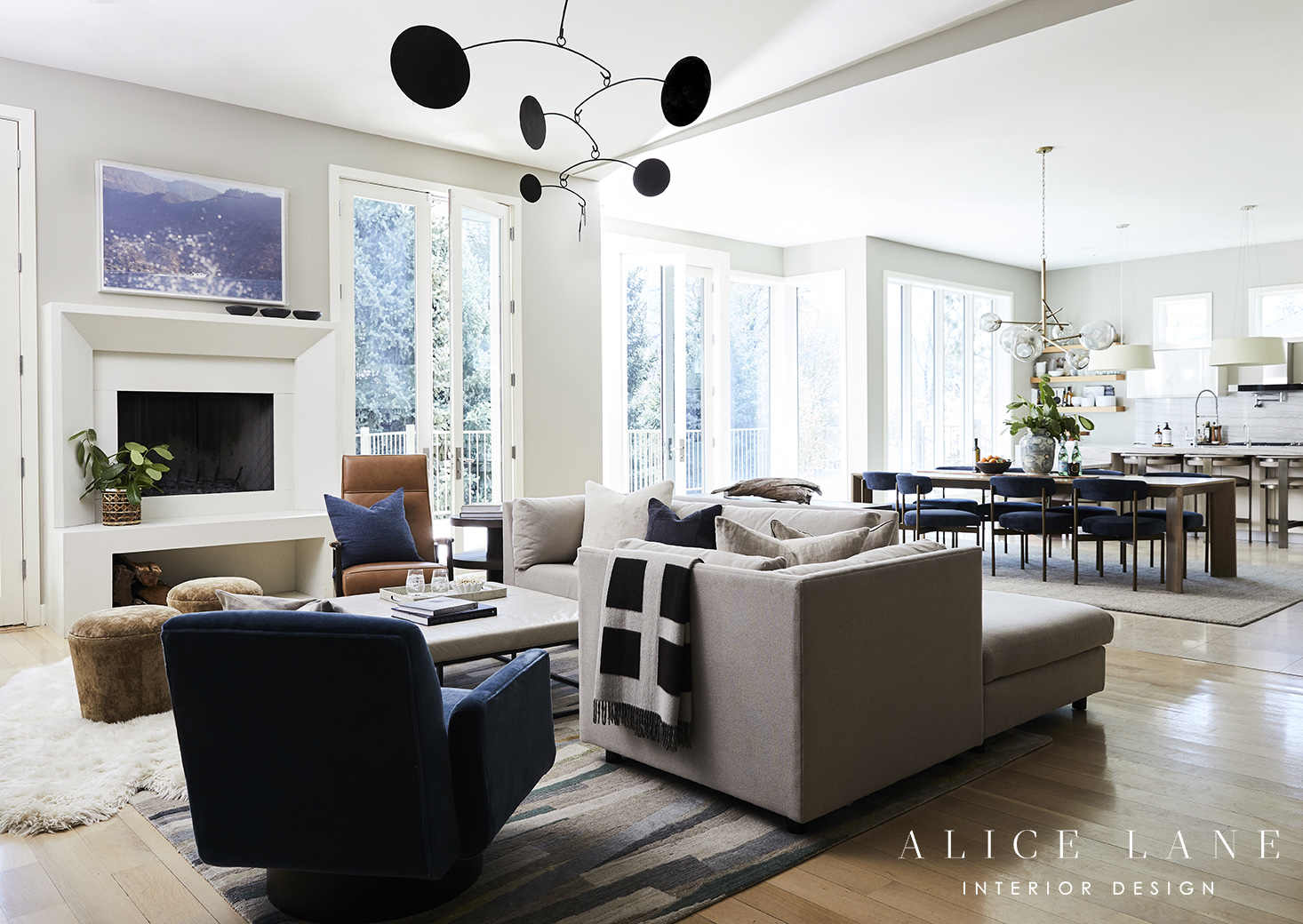 Riverside | Alice Lane Interior Design | Photo by Nicole Gerulat