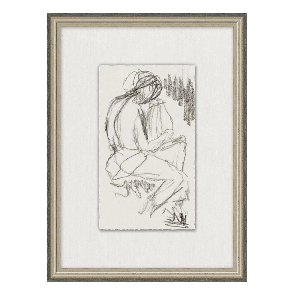Charcoal Figure Sketch