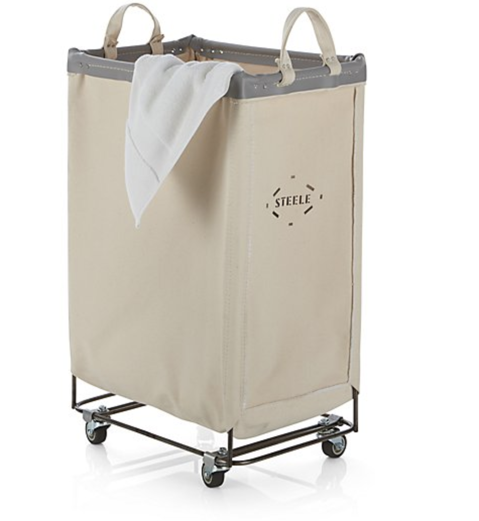 Steele Laundry Cart