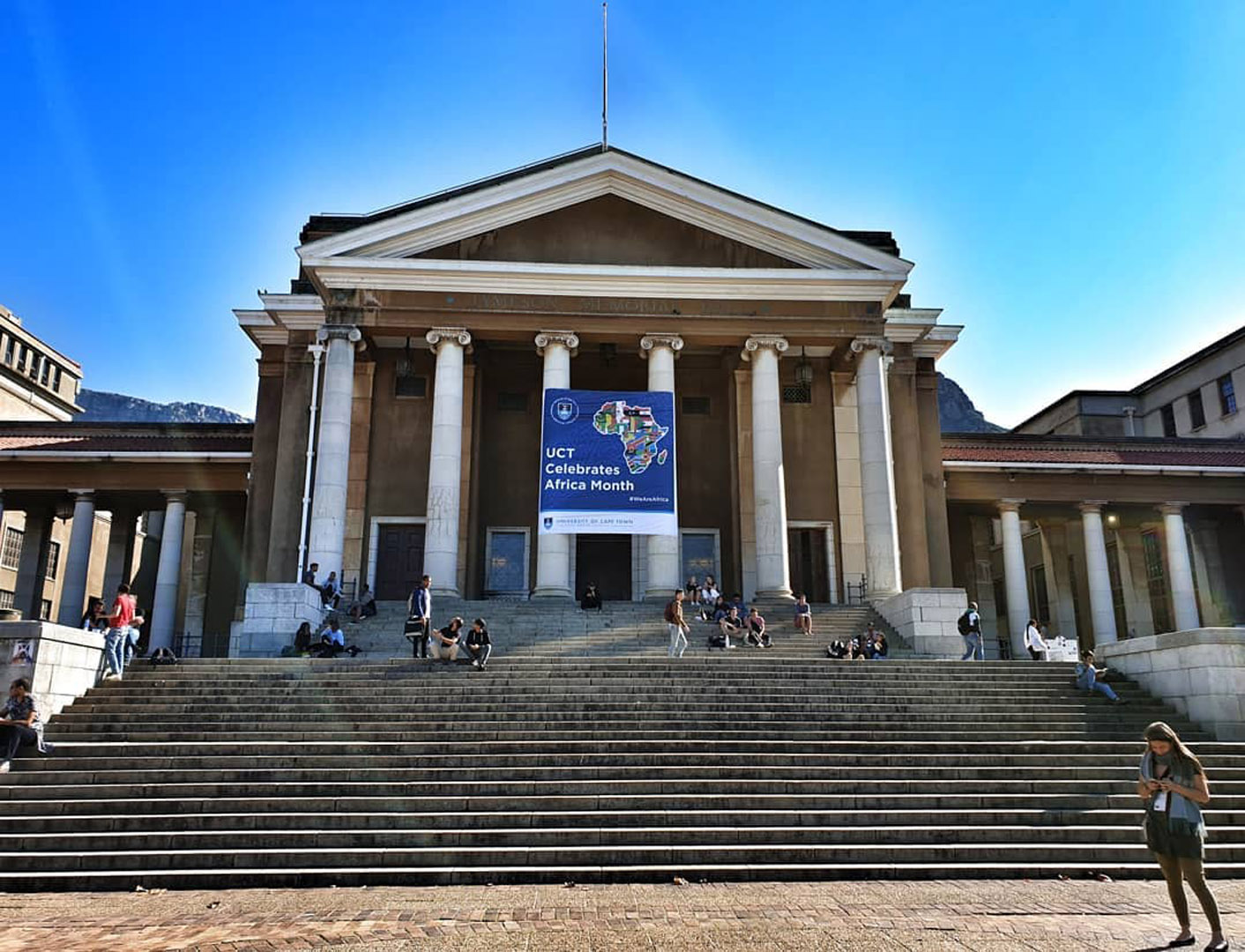 The University of Cape Town -  English Language Centre - Click here to learn more