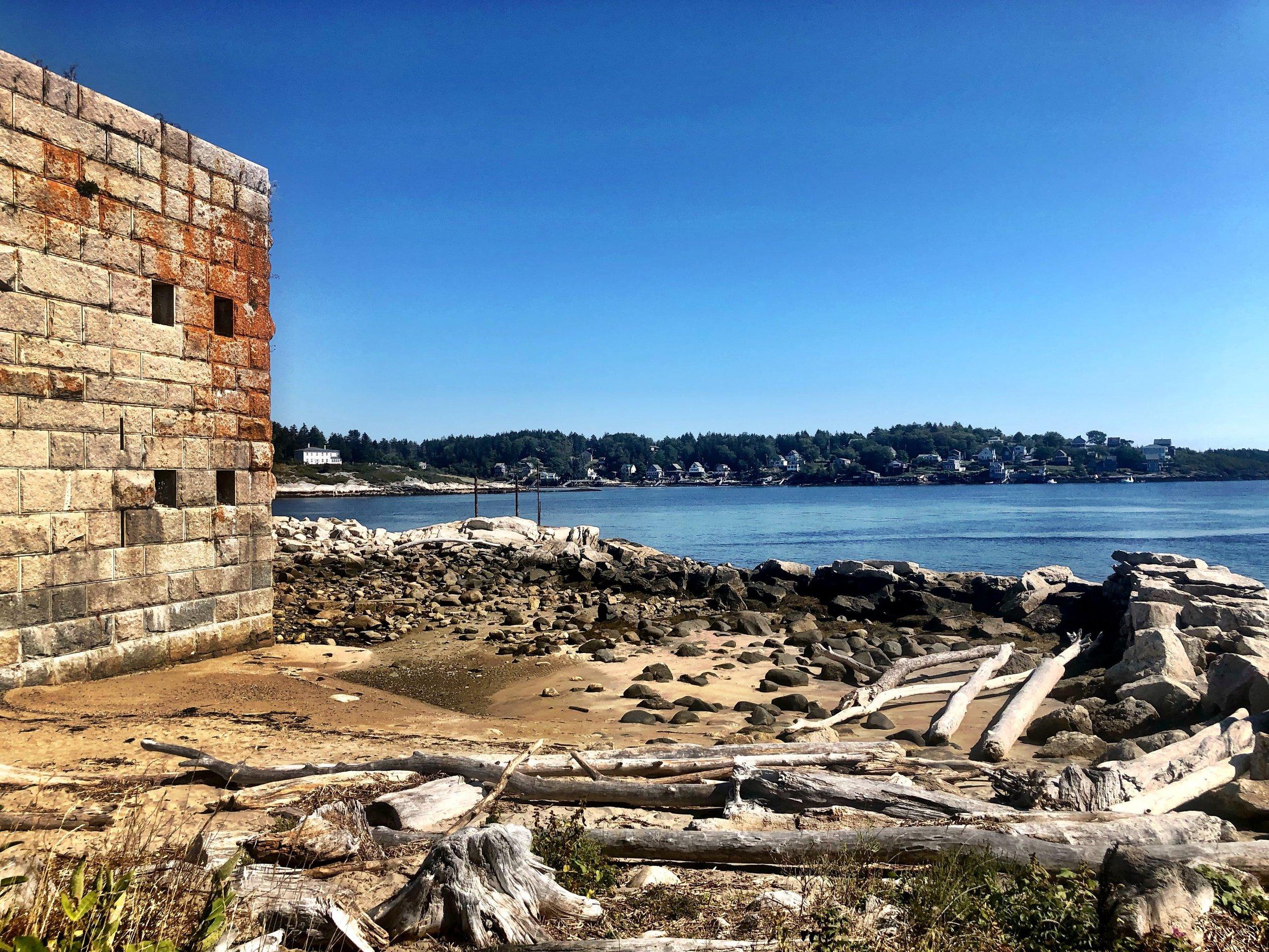 Fort George, Popham Beach, Maine