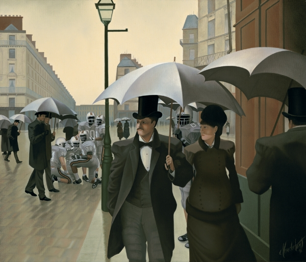THE AMERICANIZATION OF GUSTAVE'S PARIS