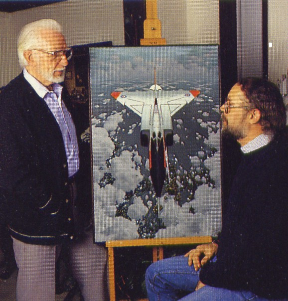 Jim Floyd, The Arrow and Rob Vanderhorst.jpg