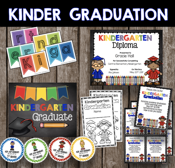 kindergarten graduation promotion decor ideas