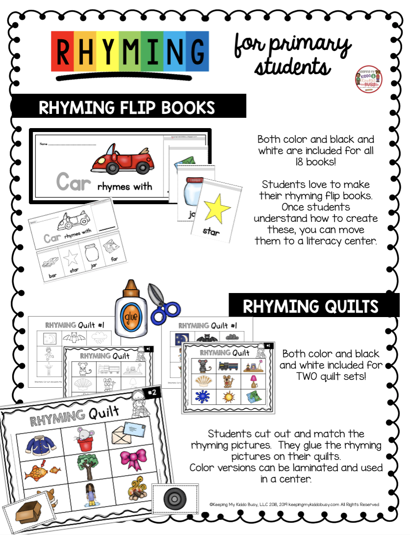 free rhyming books