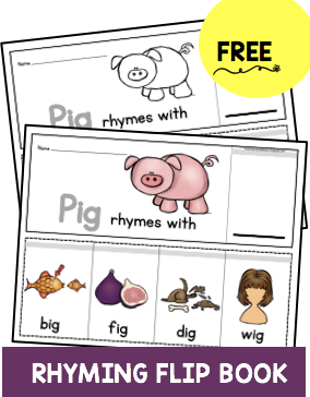 free rhyming books kindergarten preschool