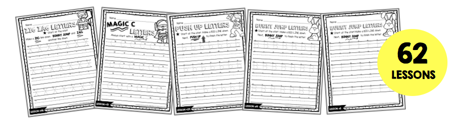 handwriting worksheets free