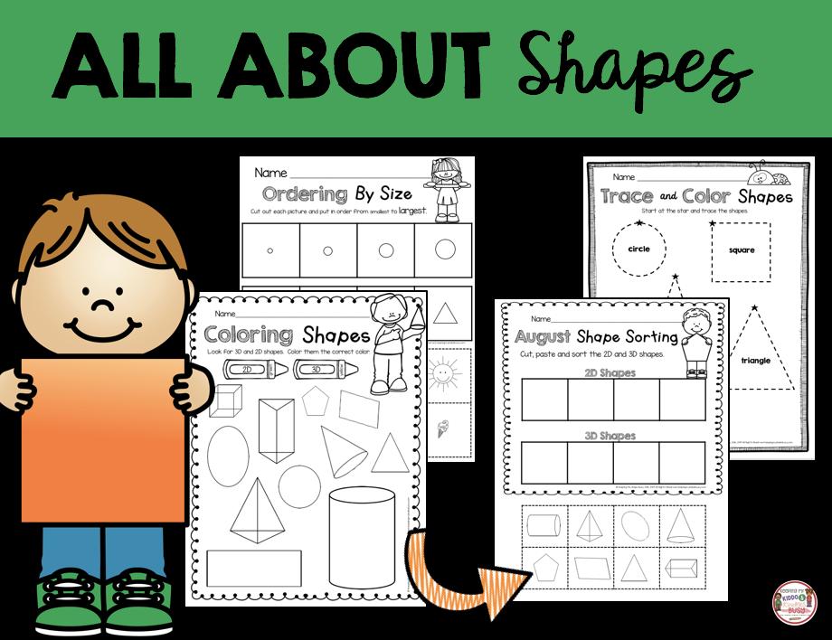 shape worksheets free