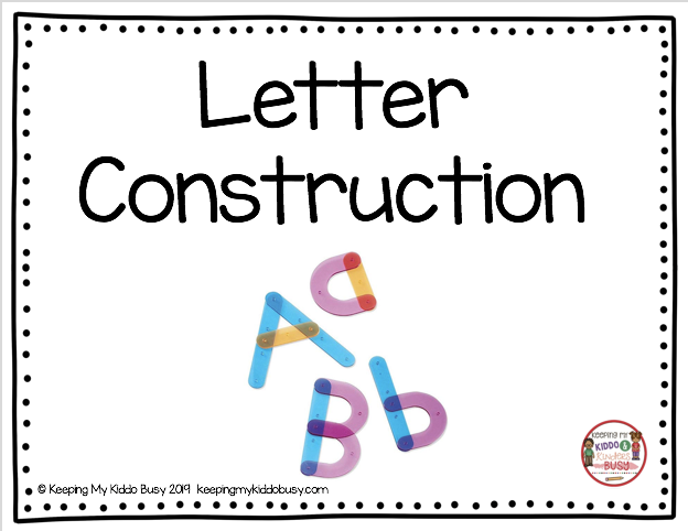 how to build letters of the alphabet hands on center