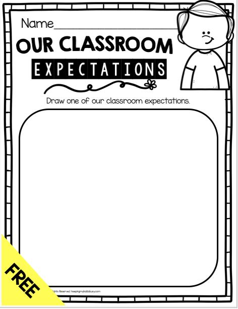 classroom rules free