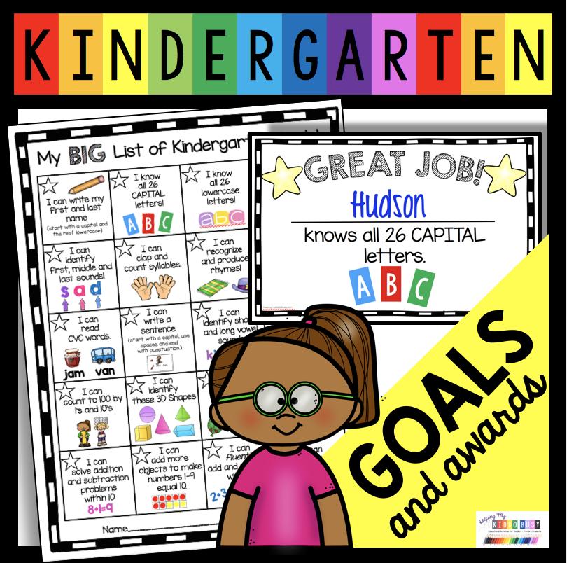 kindergarten goal setting