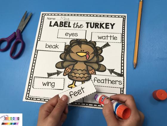 free label the turkey