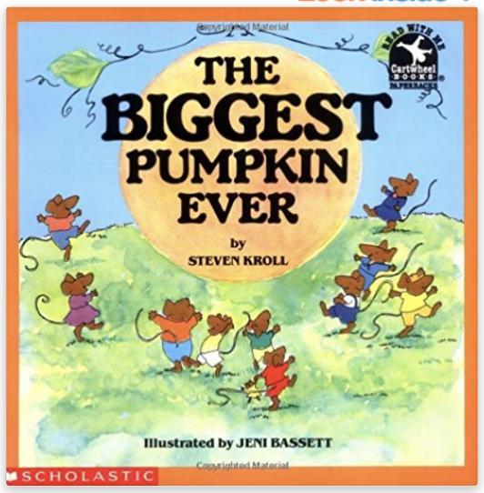 the biggest pumpkin ever printables activities