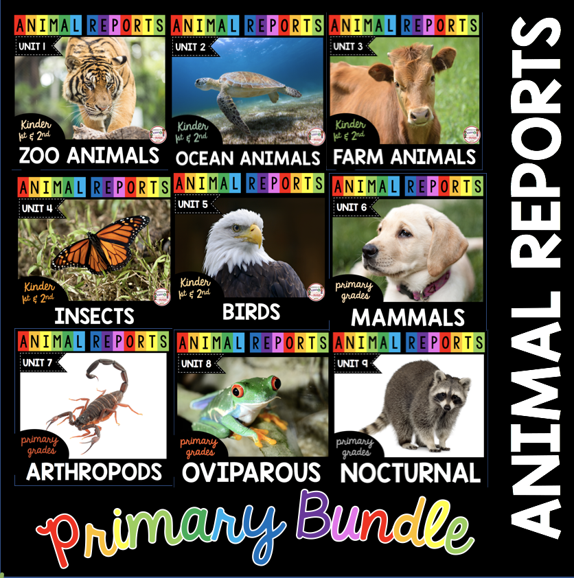 animal report units