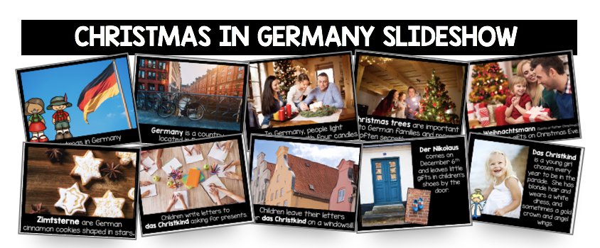 Christmas in Germany slideshows kindergarten first grade
