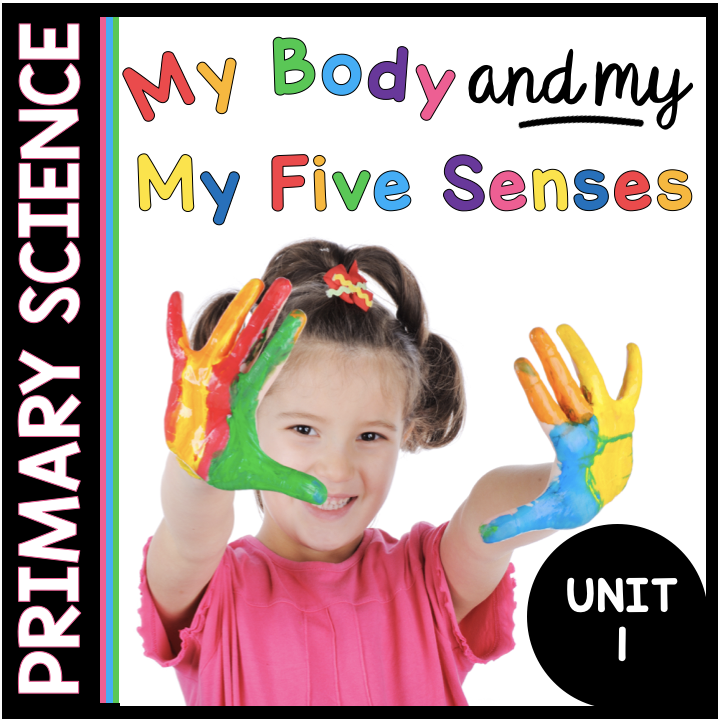 My Body and my five senses science unit