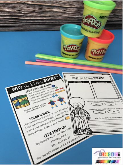 kindergarten first grade science stem activity free
