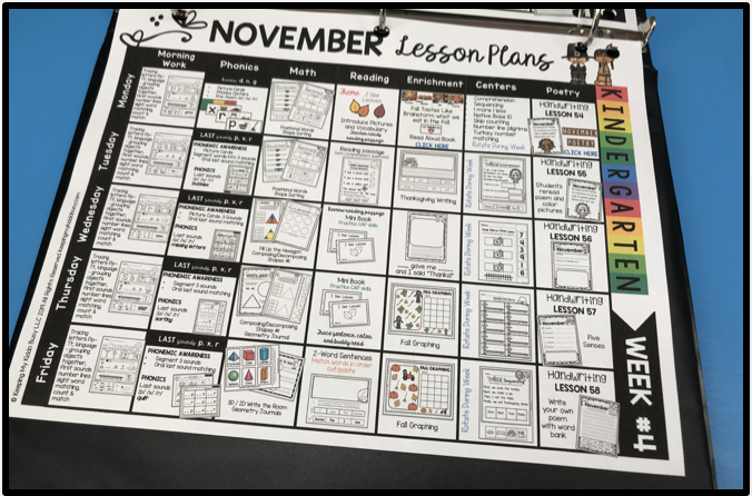 free first grade lesson plans thanksgiving