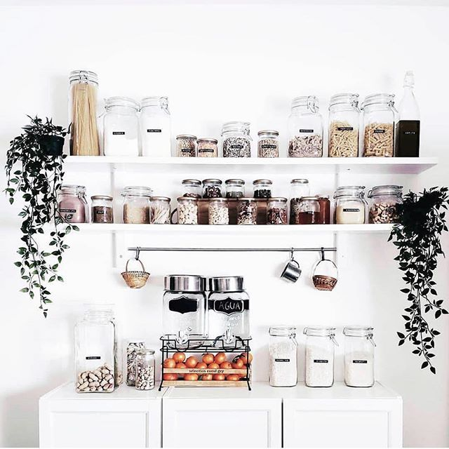 It's that time of year to DOWNSIZE, DECLUTTER, and GET ORGANIZED! How amazing would you feel opening your pantry and seeing THIS? 😍🥰 Another benefit to a labeled, organized pantry is that you no longer have to guess on what to buy at the store! No more wasting money on buying things you already have when it's clearly visible! You wouldn't believe all of the duplicates and expired things I find on each job! ☺️ Could your life benefit from more time? Call or message me today to get organized! ✨• • • • • #pantrygoals #busymomlife #organization #dallasinteriordesign #dallasrealestate #love #inspiration #designinspiration #organizationideas #dallas #friscotx #mckinneytx #timesaver #interiordecor #pantry #pantryorganization #clean #inspohome #goals #beforeandafter #luxury #love #labels #kidfriendly #family #food #foodie #ilovemyclients #containyourself