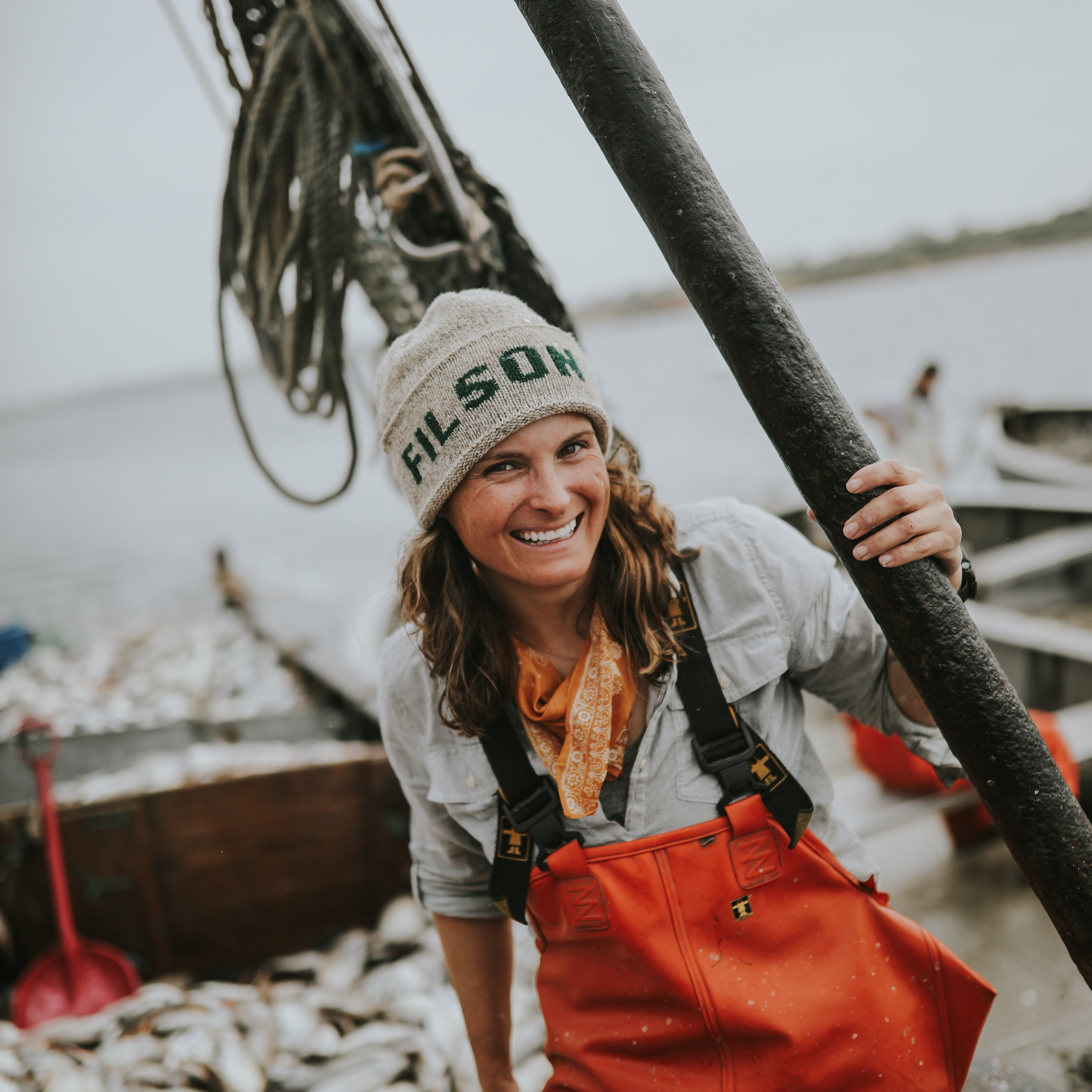 fashion - Style inspired by the fishing and with fishing and the environment in mind.
