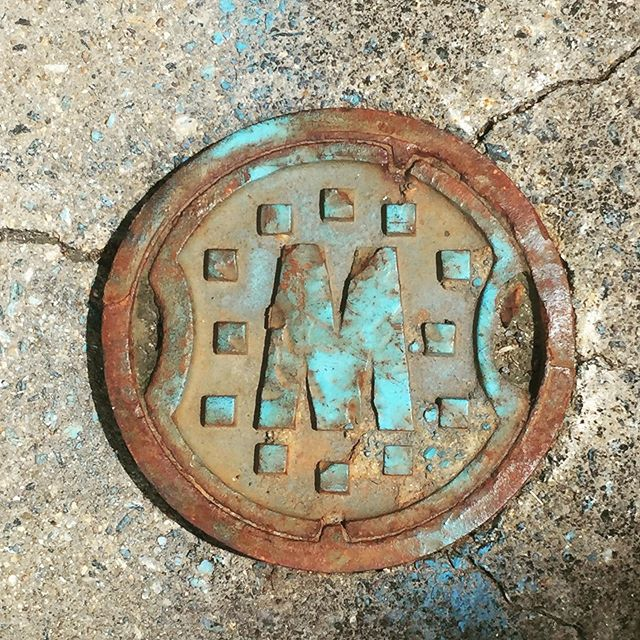 Ground #fonts Scott's Addition, Richmond, VA #rvafonts #rusty