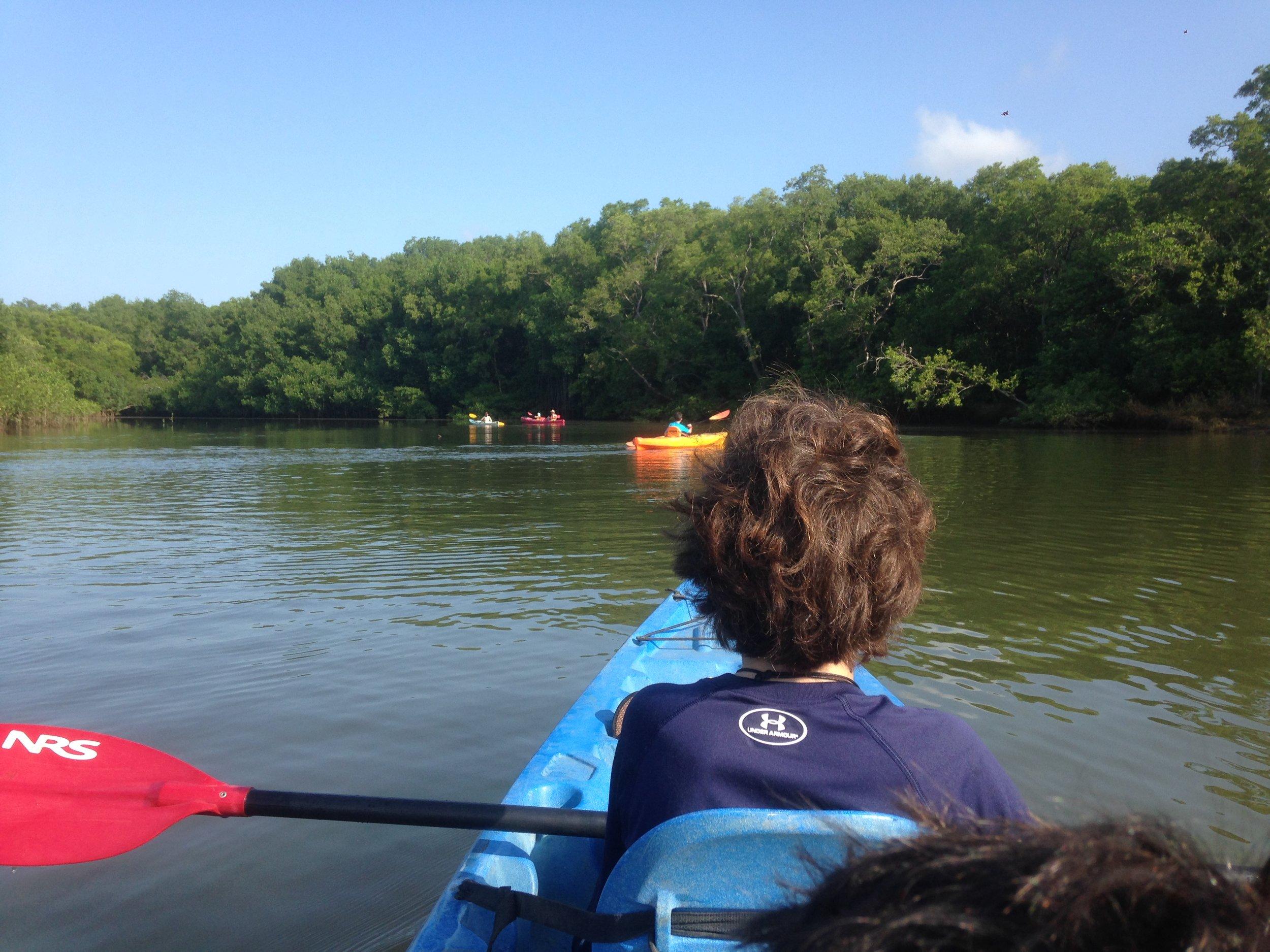 Kayaking Nosara Guiones