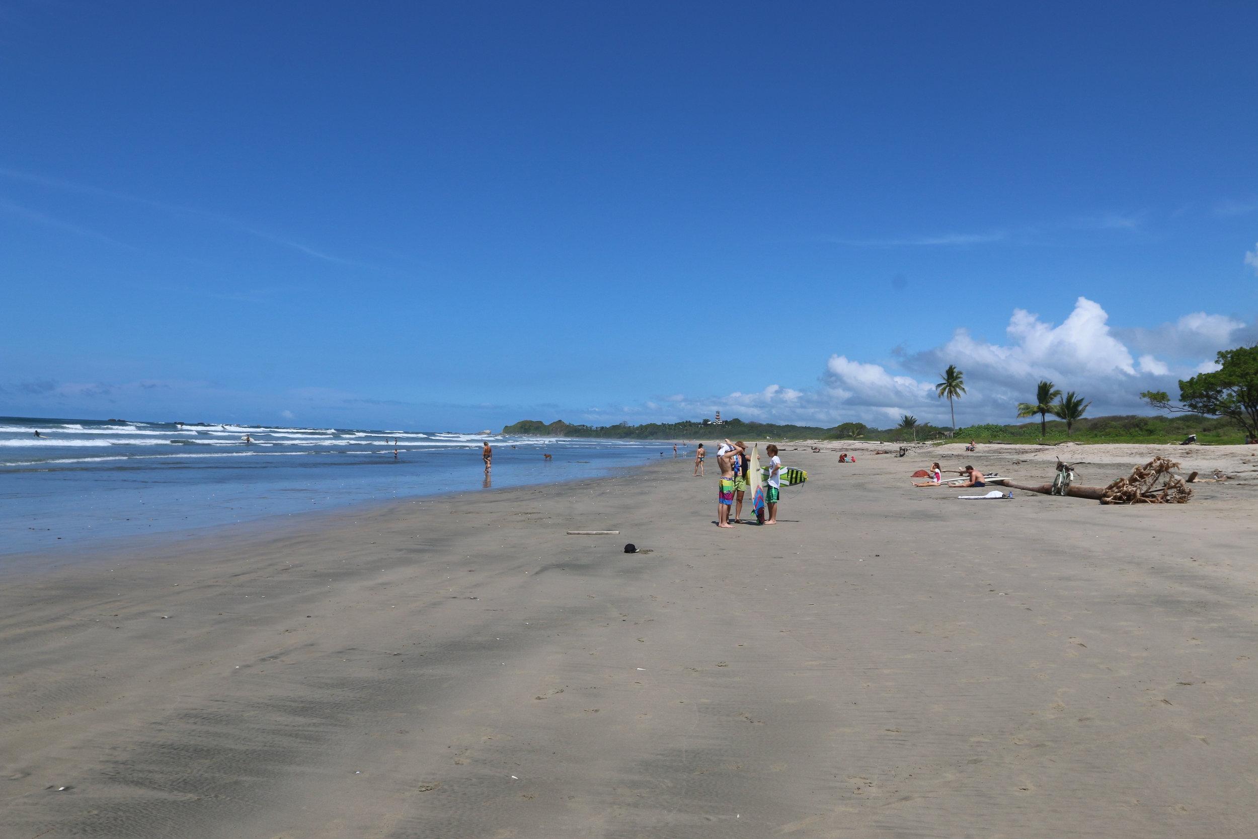 Guiones Beach