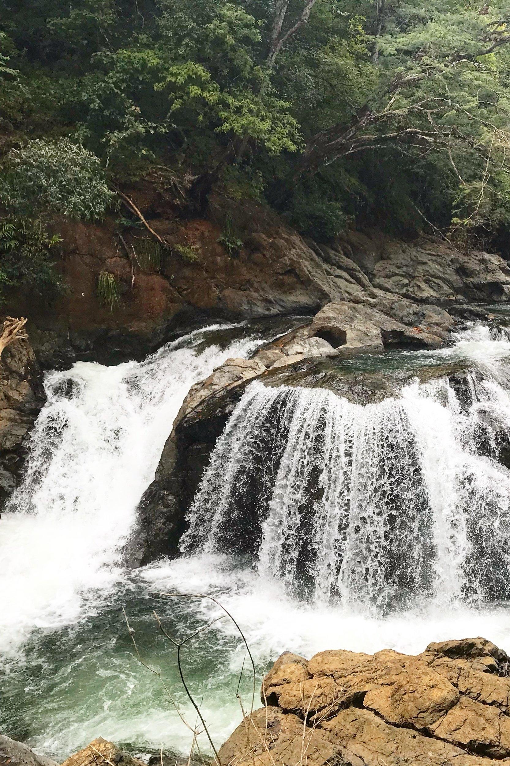 Nosara waterfalls