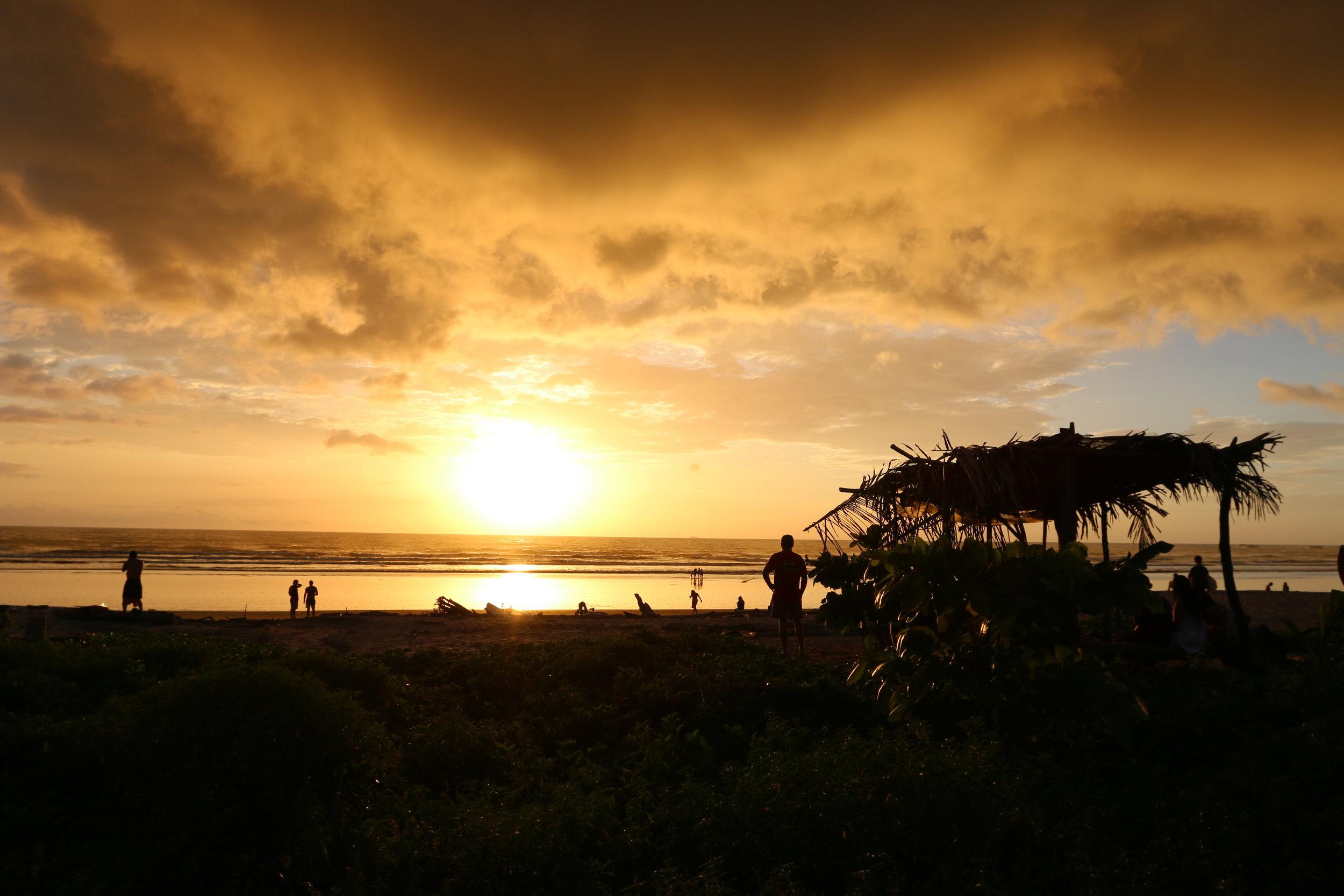Nosara sunsets