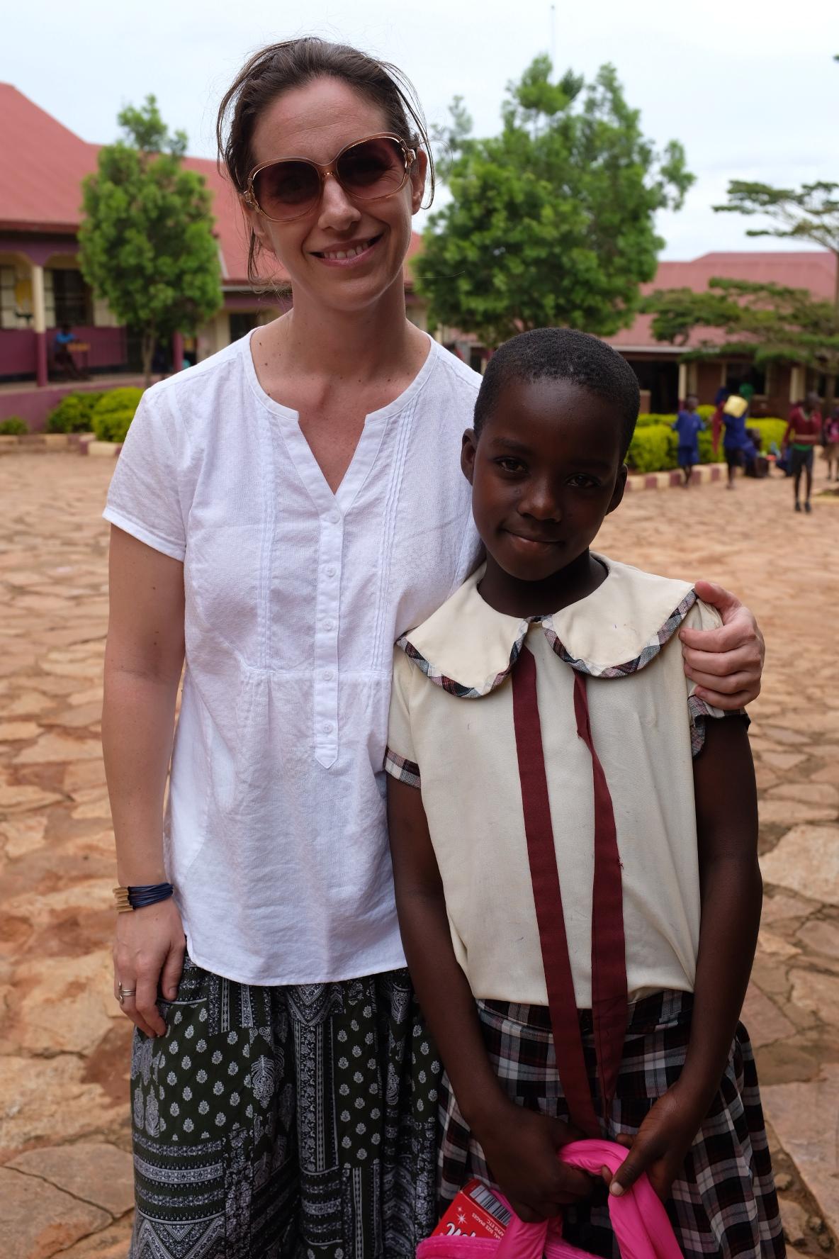 Ainsley and Margaret - sponsor girl.JPG