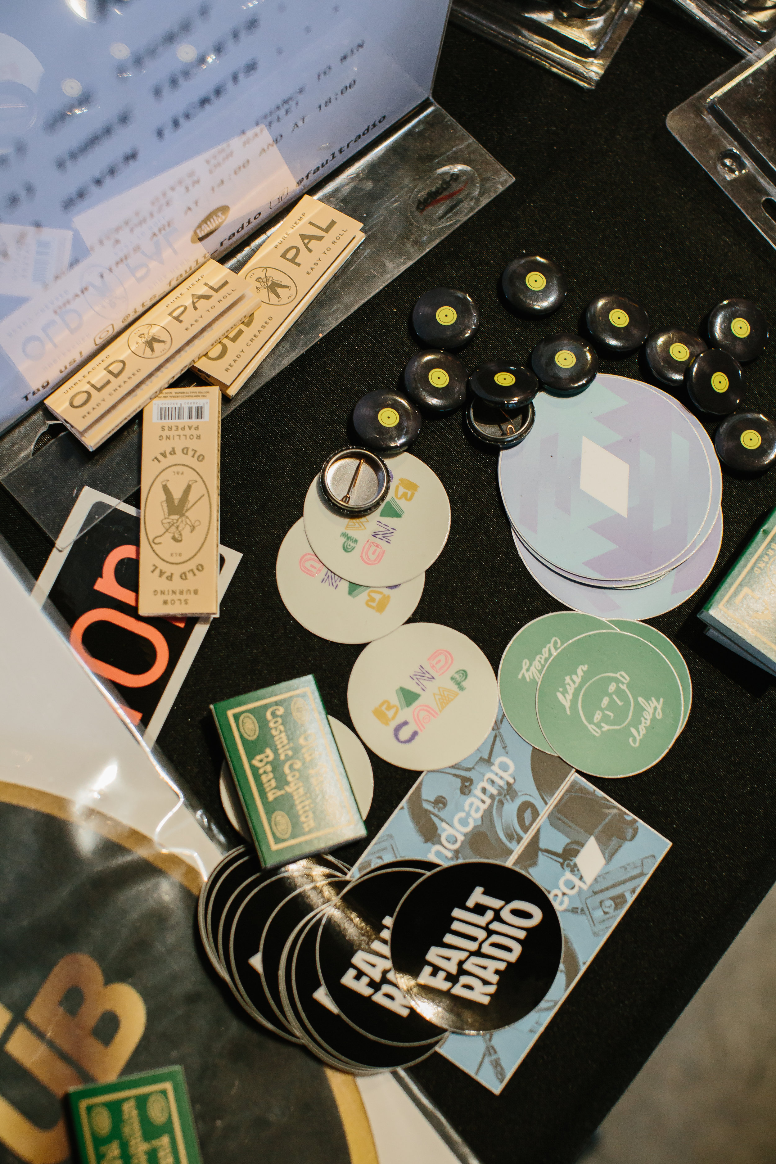 Fault Radio and Old Pal teamed up to bring the tradition of enjoying cannabis with music to the Shifting Plates Record Fair on August 17, 2019.