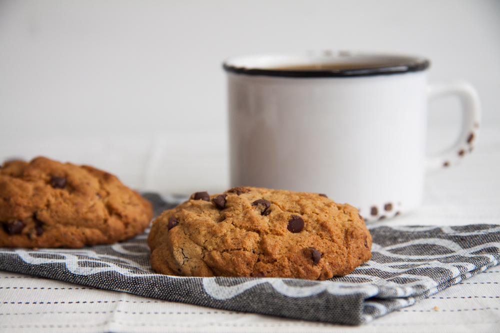 Vegan Buckwheat Chocolate Chip Cookie