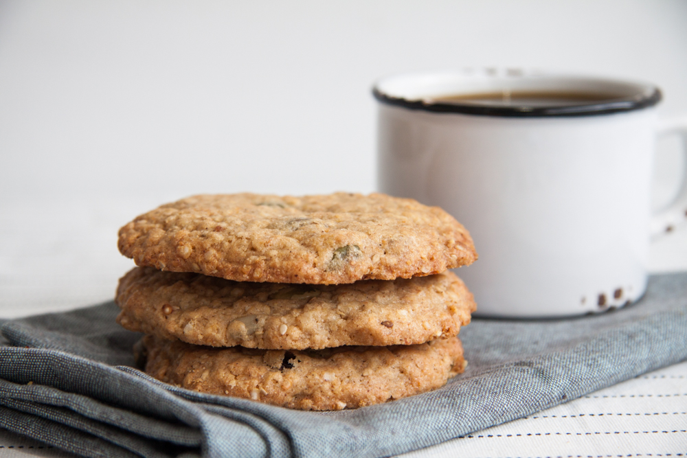 Vegan Quinoa Sunflower Cookie