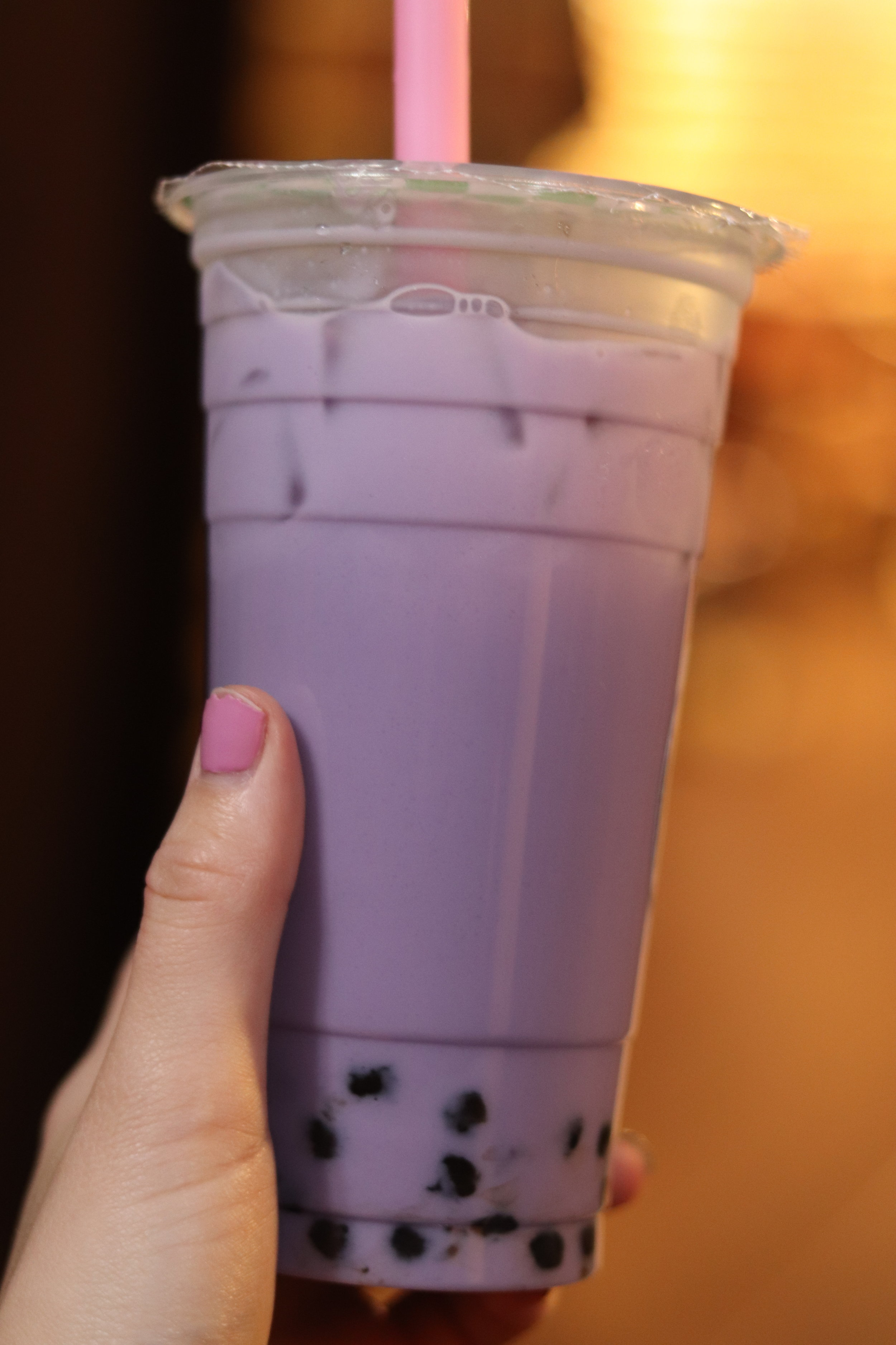 Another Taro bubble tea