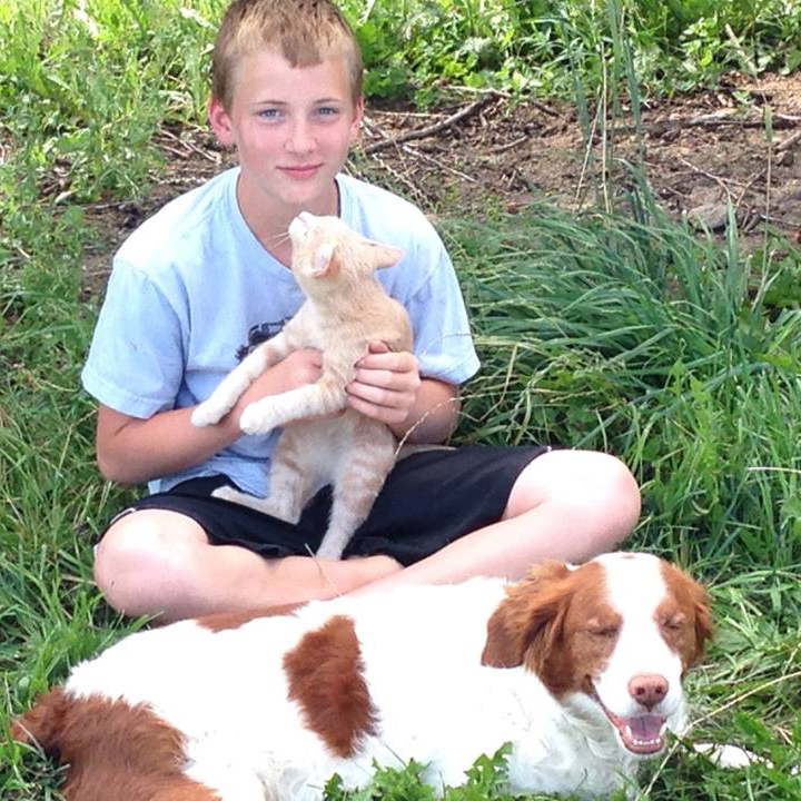 Cody with Rudy and cat.jpg