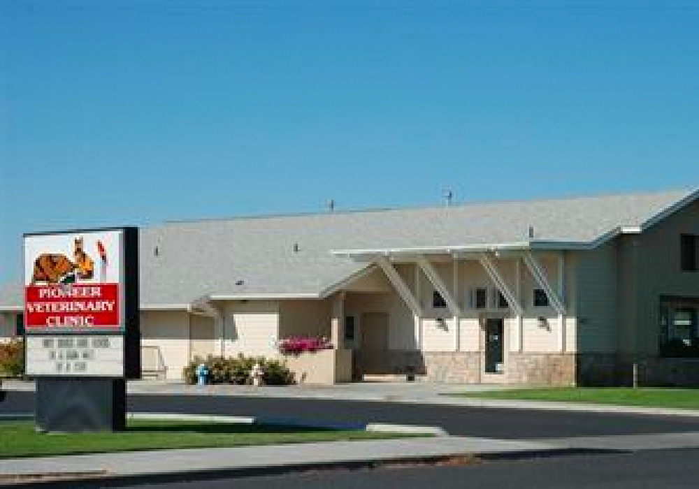 Pioneer Veterinary Clinic - 827 Sharon Ave.Moses Lake, WA 98837(509) 765-6794www.pioneerveterinaryclinic.com