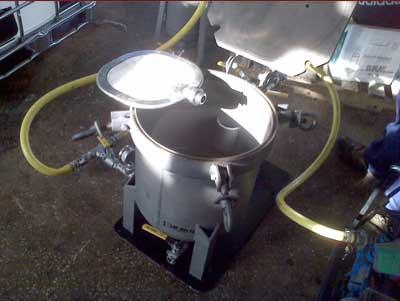 Rental Pilot Filter: 2-Square Foot Pressure Leaf Filter for Production Trials