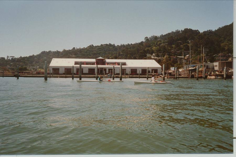 Summer 1987 - Life in a marina under construction