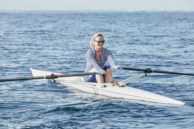 The Zen of Open-Water Rowing   A former collegiate rower rediscovered rowing's speed and sense of calm, while experiencing them in an unpredictable new way—on the ocean   By   Jen Murphy   July 4, 2016