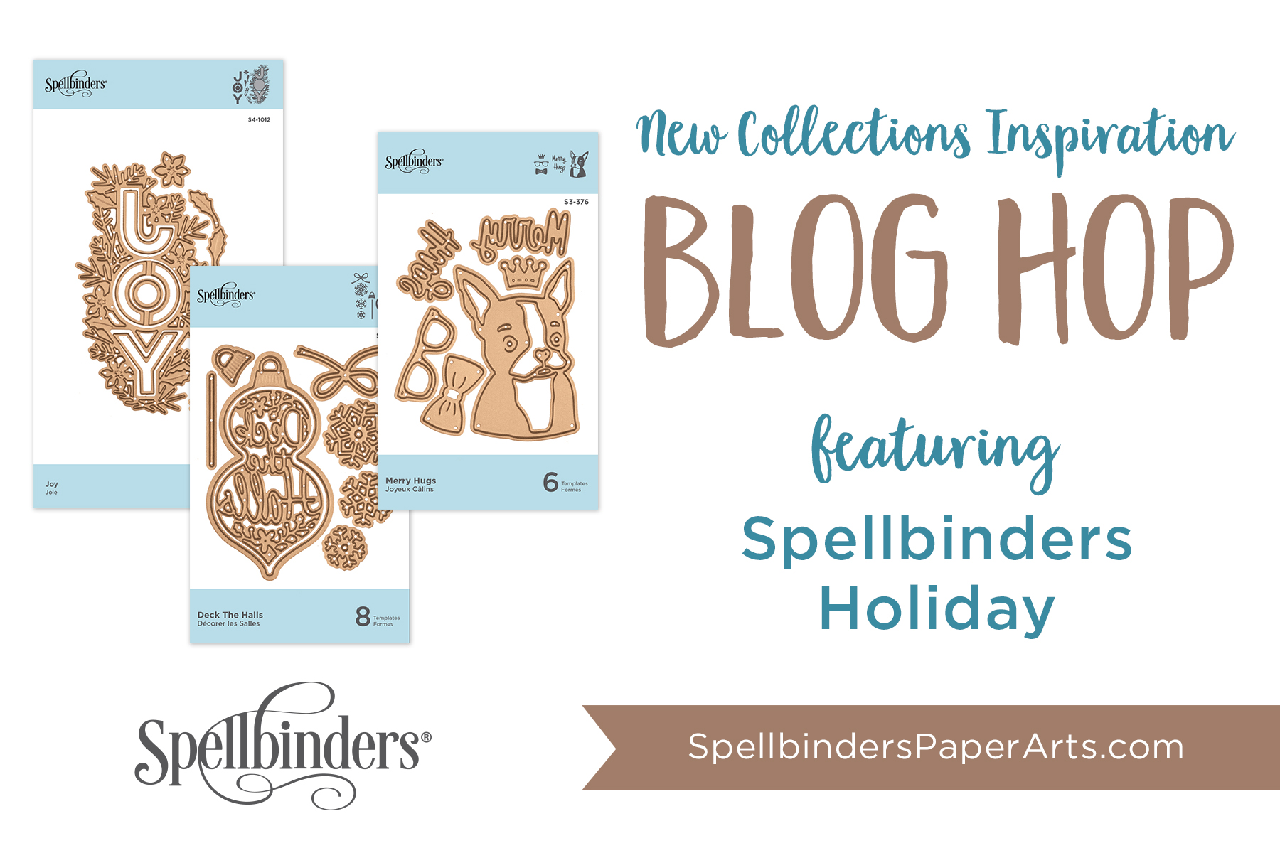 Click here to shop the Spellbinders Holiday 2019 Release NOW!