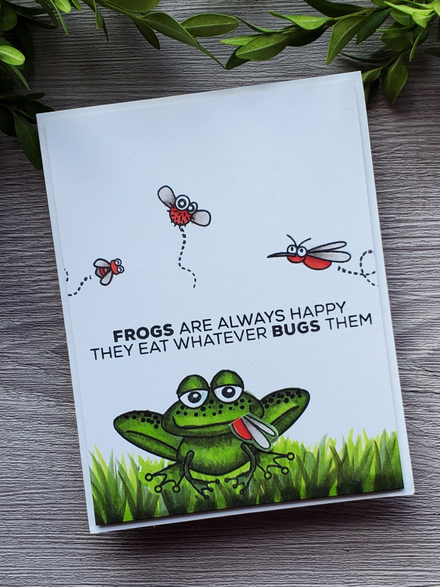 Felix the Frog Stamp Set from Technique Tuesday