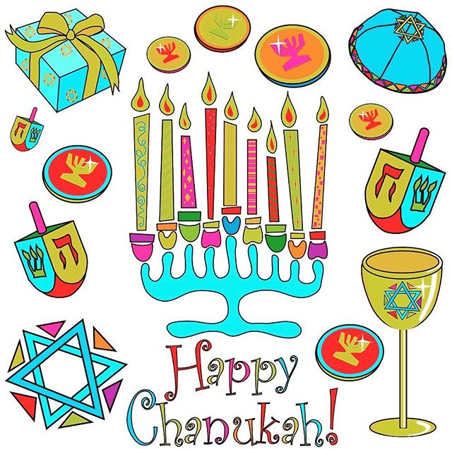 Happy Chanukah to all of our Jewish brothers and sisters!