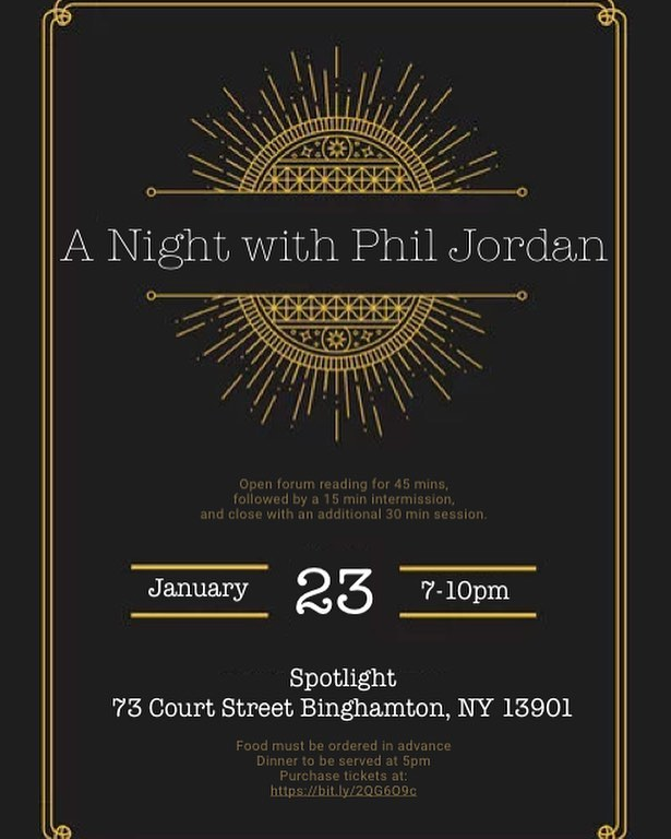 Come join us for A Night with Phil Jordan on January 23rd at Spotlight! Ticket info at wjobfm.com/events