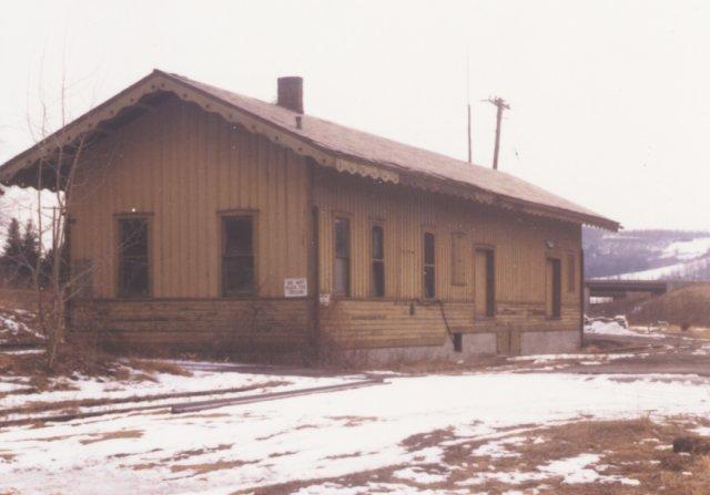 Back side of the station.