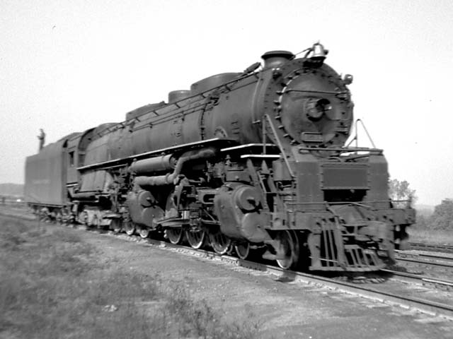 D&H 1511 TYPE:  4-6-6-4  CLASS:  J  DATE:  1946  LOCATION:  Glendale, NY  NOTES:  Near Mohawk Yard.  PHOTOGRAPHER:  Jim Wright