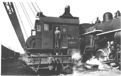 D&H 35001  Steam Crane   Horace Dean Collection