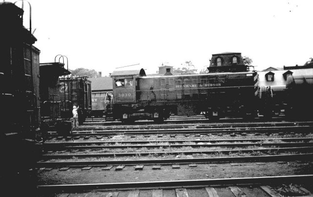 D&H 3030  Rutland, VT.  Photograph collection of Scott J. Whitney.