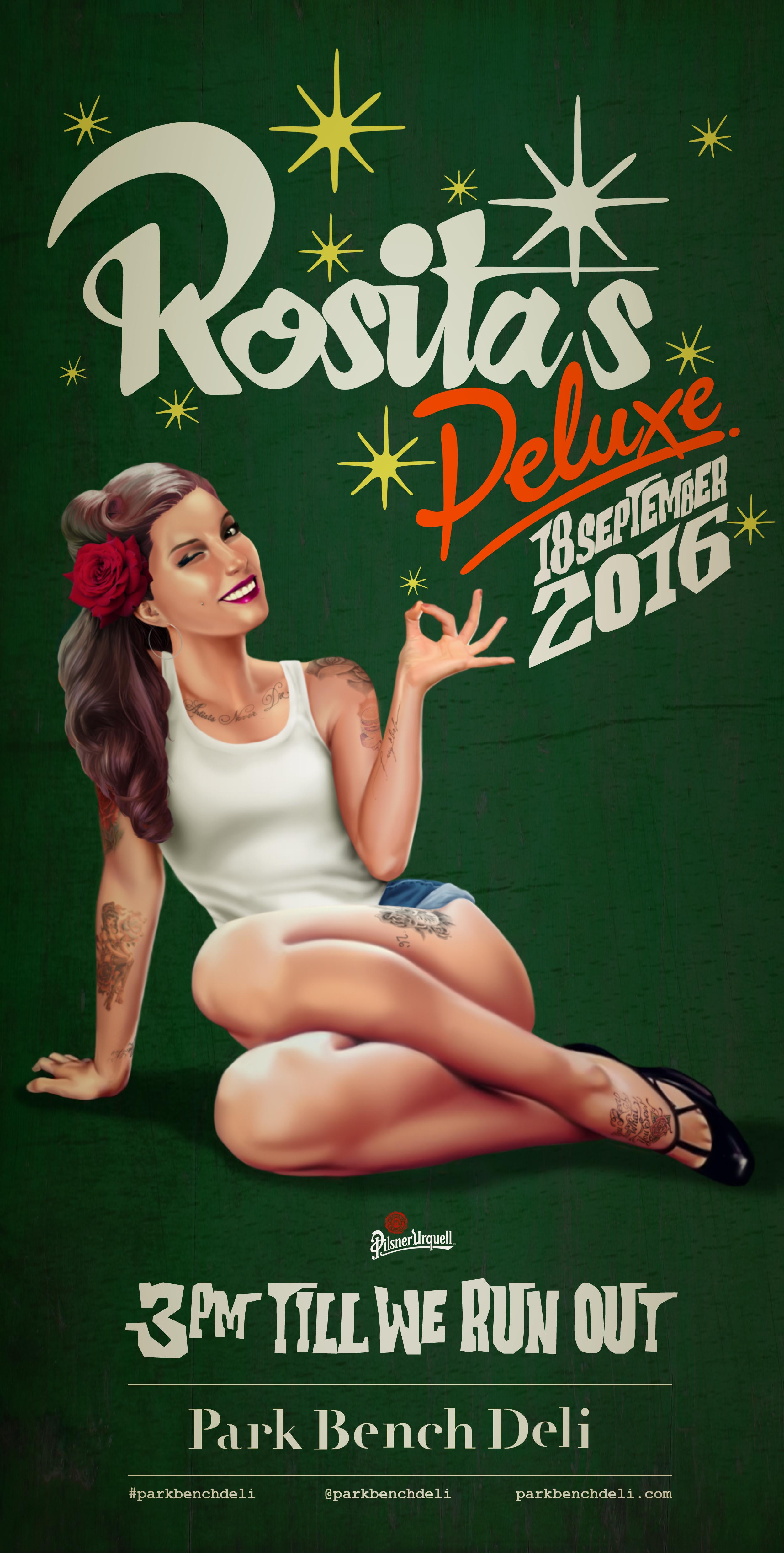 Rosita's Deluxe at Park Bench Deli