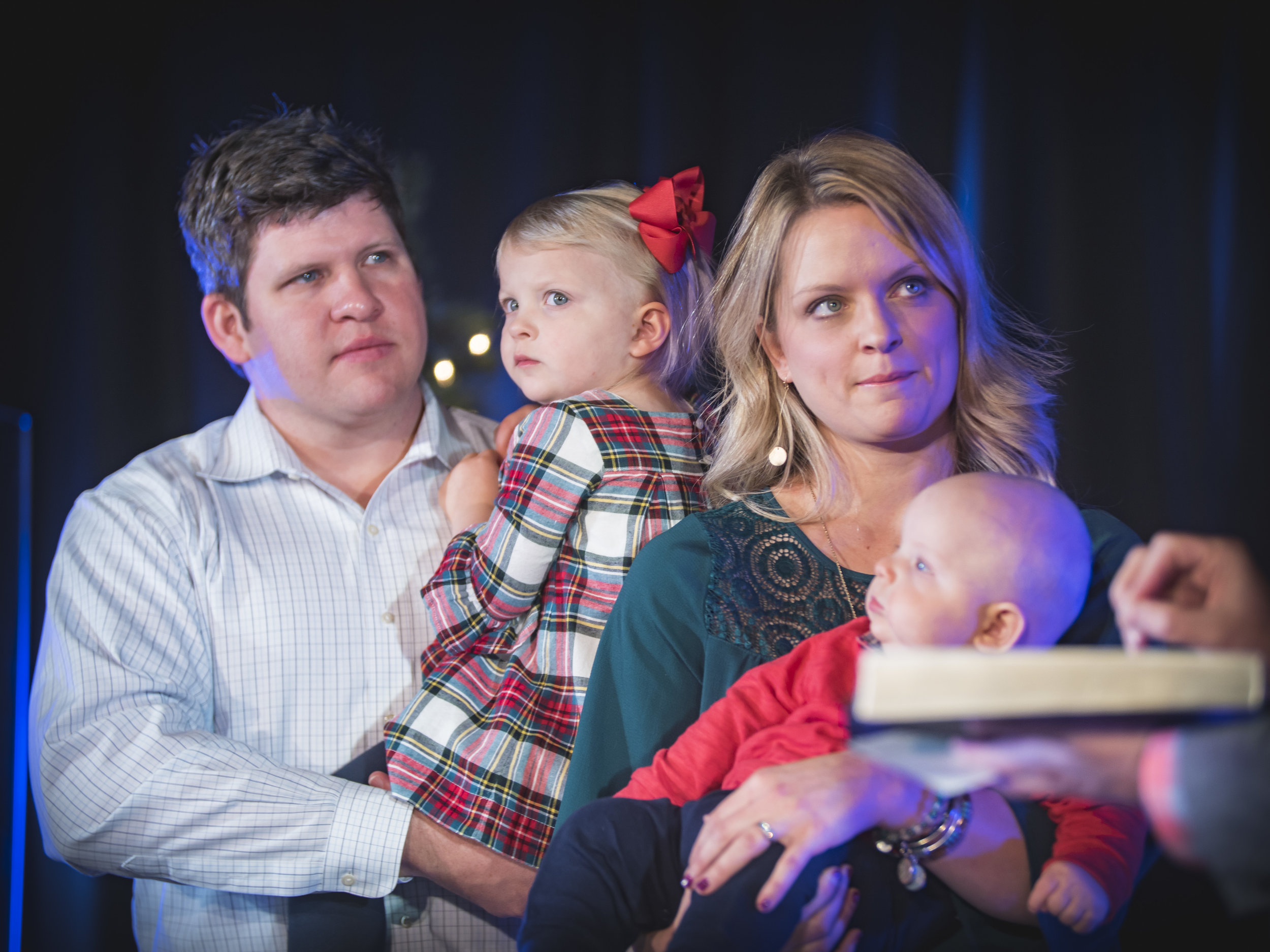 Child Dedication - Our next one is February 24th!